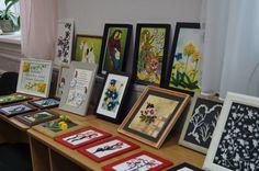 Мини выставка моих работ в библиотеке им. Фадеева