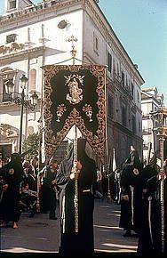 Cortejo procesional: Hermandad de Santa Marta