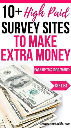 Over 10 high pay survey sites to make $1000 per month of extra income. Ideal for moms, college students or anyone who wants to earn extra money working from home or anywhere! extra income   earn money   stay at home jobs   stay at home mom jobs  survey for money   make money fast   extra cash   make money at home   make money online   earn extra money   side hustle ideas #makeextramoney #workfromhomejobs #makemoneyonline