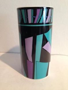 rare Rosenthal Studio Linie Emilio Pucci Vase Zadig Design 70er 60er Jahre rare in Porzellan & Keramik   eBay