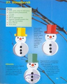 s, ragaszt?s - Zsuzsi tanitoneni - ? Christmas Crafts For Kids, Christmas And New Year, Holiday Crafts, Christmas Diy, Christmas Decorations, 3d Paper Crafts, Diy And Crafts, Kids Workshop, Bible Story Crafts