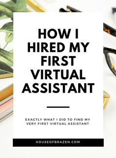 Starting to think about hiring your first virtual assistant? In this post I share exactly how I went about hiring my amazing VA! Hint: It's a lot easier than you think! Home Based Business, Business Tips, Online Business, Creative Business, How To Start A Blog, How To Make Money, How To Become, Focus Boards, Virtual Assistant