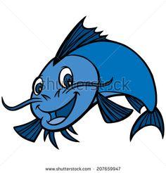 Catfish Dinner - stock vector