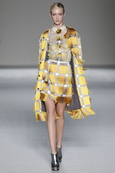 Marco de Vincenzo womenswear, spring/summer 2015, Milan Fashion Week
