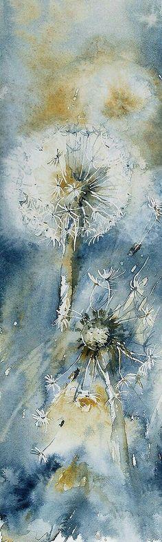 Still life of dandelions  #art #stilllife