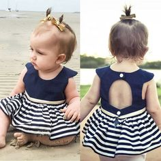 Baby Girl Clothes Dress Fashion Pure Cotton Cartoon Girls Clothes Baby Sleeveless Children's Dress vestido infantil - Kid Shop Global - Kids & Baby Shop Online - baby & kids clothing, toys for baby & kid Baby Tutu, Baby Girl Newborn, Baby Dress, Baby Outfits, Kids Outfits, Sundress Outfit, Romper, Dresses Kids Girl, Girls Party Dress