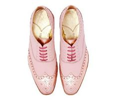 I just love the men's PINK shoes--but no amount of convincing would get my husband to wear them---