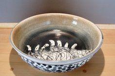 "Van Dop Gallery | Artists | ceramic: ""Pasta Bowl"" by Kinichi Shigeno International Artist, Kind Words, Home Decor Items, Garden Art, Decorative Bowls, Arts And Crafts, Van, Pasta, Entertaining"