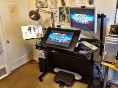 New Standing Workstation. by Fred--Lang
