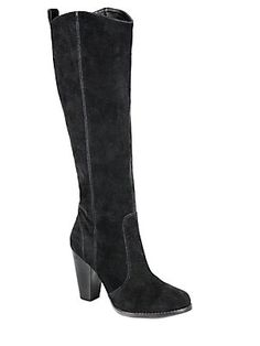 Joie Dagny Suede Knee-High Boots