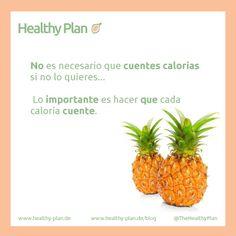 No es necesario que cuentes calorías si no lo quieres... Lo importante es hacer que cada caloría cuente. @TheHealthyPlan #Saludable #HealthyOptions #Buenoparami