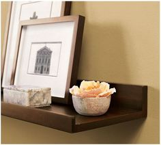 DIY Wall Display Shelves