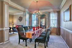 Dining Rooms - 360 Tour Designs - www.360tourdesigns.com