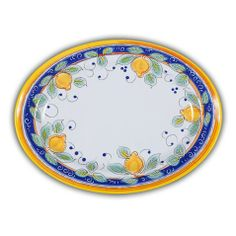Picnic Alcantara Serving Platter. Heavy duty Melamine  with Italian pattern and perfect for outdoor dining!