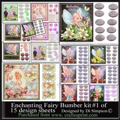 A great bumper kit for the love of fairies. An economicle way to buy lots     of…