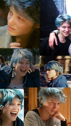 10 Extremely Inspirational Movies That Will Change Everything. Scenes from the movie Blue Is the Warmest Color. Pelo Guay, Pretty People, Beautiful People, Lea Seydoux, Blue Is The Warmest Colour, Inspirational Movies, Aesthetic Hair, Grunge Hair, Warm Colors