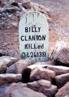 famous wild west graves | Above the Norm: Billy Clanton: the Youngest Outlaw Brother