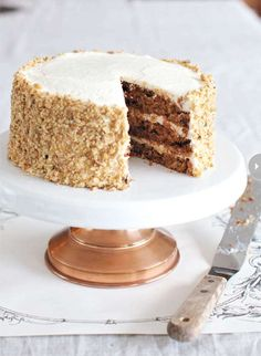Filled with seasonal flavour this mouth-watering carrot cake recipe from Rosie Daykin, owner of Vancouver's Butter Baked Goods bakery will have your guests asking for seconds. Creative Cake Decorating, Creative Cakes, Cookie Decorating, Cheesecake Recipes, Dessert Recipes, Bakery Recipes, Yummy Recipes, Butter Bakery, Good Bakery