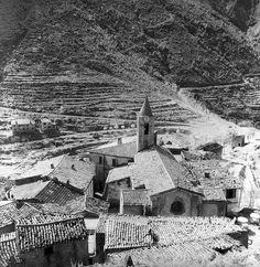 church in southeastern france  may 1959    sainte-agnès