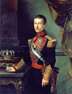 """Francisco de Asis de Borbón. De los 12 hijos nacidos de su matrimonio con su prima Isabel II, sólo 5 superaron la niñez: Luis (1849); Fernando (1850); Mª Isabel Francisca (1851–1931), llamada """"la Chata. María Cristina (1854); Fco. de Asís (1856); Alfonso XII (1857/85); Mª de la Concepción (1859/61); Mª del Pilar (1861/79); Mª de la Paz (1862–1946); Mª Eulalia (1864–1958) Quizá la consanguinidad influyera en las muertes prematuras, aunque la paternidad biológica sea discutida. Bourbon, Roi George, Fernando Vii, Luis Xiv, Queen Isabella, Spanish Royalty, Isabel Ii, Spanish Painters, Royal Court"""