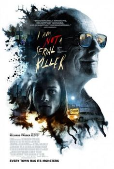 We are pleased to premiere the I Am Not a Serial Killer poster, the new supernatural horror thriller starring Christopher Lloyd and Max Records. Netflix Movies, Hd Movies, Movies To Watch, Movies Online, Movie Tv, 2018 Movies, John Wayne, Thriller, Trailer Peliculas