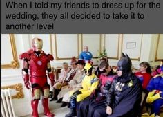 Put princess dresses and suits on them and there would be my wedding :P