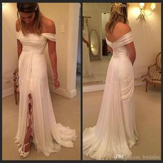 white-beach-wedding-dresses-2016-off-the