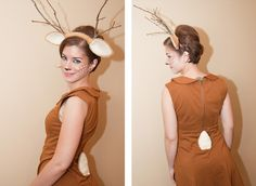 Deer costume by heart times infinity Holiday Costumes, Diy Costumes, Halloween Costumes, Turtle Costumes, Woman Costumes, Pirate Costumes, Couple Costumes, Princess Costumes, Group Costumes