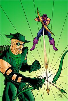 Hawkeye: Green Arrow & Hawkeye fan art