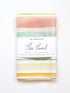 Our watercolor tea towels help add a spot of joyful color to any kitchen! Soap Packaging, Brand Packaging, Textiles, Textile Prints, Dish Towels, Tea Towels, Printing On Fabric, Screen Printing, Diy And Crafts