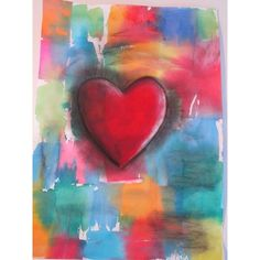 Do Art! Jim Dine Valentine's Day project ❤ liked on Polyvore featuring home, home decor and valentines day home decor