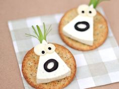 Monstros de queijo - 17 (© Foto: Cute Food for Kids)