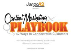 Content Marketing Playbook - 42 Custom Publishing, Branded Content an… Inbound Marketing, Content Marketing, Online Marketing, Social Media Images, Social Media Tips, Narrativa Digital, Marketing Articles, Business Profile, Marketing Professional