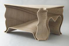 Demakersvan, Jeroen Verhoeven. Cinderella Table. 2004