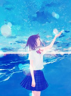 e-shuushuu kawaii and moe anime image board Manga Anime, Manga Girl, Wallpaper Animes, Animes Wallpapers, Kawaii Anime Girl, Anime Art Girl, Anime Comics, Aesthetic Art, Aesthetic Anime