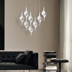 Acqua Lantern Pendant, Pendant Lighting, Aluminium Kitchen, Pendant Design, Globe Lights, Exterior Lighting, Glass Shades, 3 D, Family Room