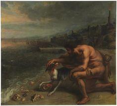 Theodoor van Thulden – El descubrimiento de la púrpura, 1636-38, óleo sobre lienzo, 190x211 cm, | Museo Nacional del Prado