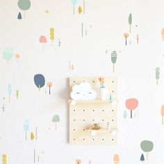 Wall Decal - Fairy Tale Forests - pastels - Wall Sticker - Room Decor – The Lovely Wall Company Murs Pastel, Fairy Tale Forest, Pastel Walls, Wall Stickers Room, Neutral Wall Stickers, Kids Wall Decals, Vinyl Decals, Tree Decals, Simple Tree