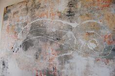 Höhlenmalerei auf Leinwand