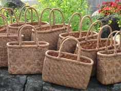 Japanese basket -kago bag ~lisa