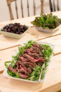 Jälkimarinoitu Paahtopaisti - Keittiössä, kotona ja puutarhassa Fodmap, Asparagus, Beef, Vegetables, Easy, Recipes, Food, Happiness, Drink