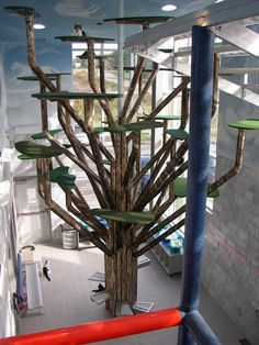 """""""Tree of Marie"""" cat tree - a 24 foot high, $100,000 cat tree with 36 branches ... It's currently the world's largest cat tree."""