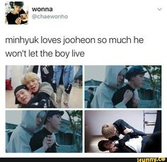 meme, minhyuk, jooheon
