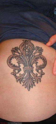 Tattoo # fleur de lis