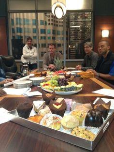 Eric Dane (Mark Sloan) & Jesse Williams (Jackson Avery). Grey's Anatomy BTS.