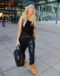 Ellie Goulding Record Producer Joggers Jogger Pants Timberlands Urban