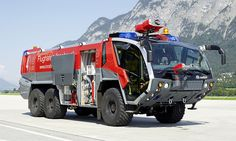 Firefighter vehicle made in austria
