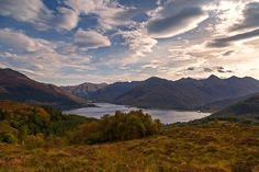 The Five Sisters of Kintail #mountains #scotland