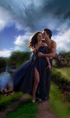 Romantic fantasy art couples romances 66 New Ideas Romance Arte, Fantasy Romance, Fantasy Art, Couple Romance, Couple Art, Romantic Pictures, Love Photos, Couple Photos, Couples In Love