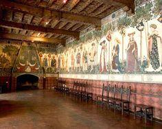 Castello della Manta, Piedmont, Italy.